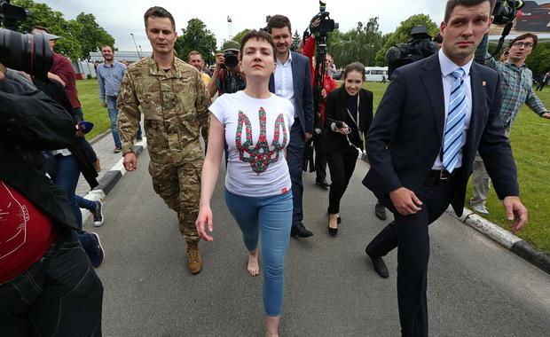 Савченко боса на украинска земя