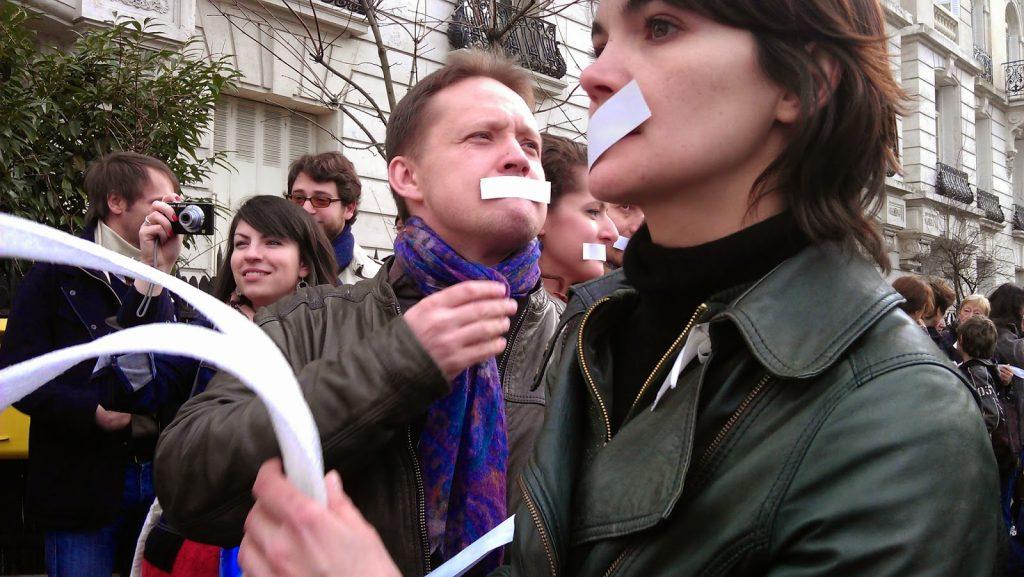 Николай Кобляков по време на събитие на Russie-Libertés