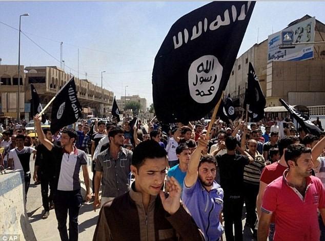Посрещането на Ислямска държава в Мосул.
