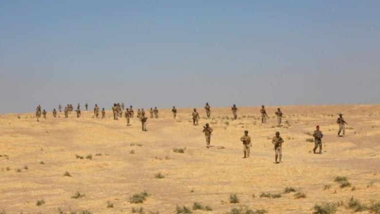 Базата Башика, в която турските военни специалисти обучават войските на пешмерга.