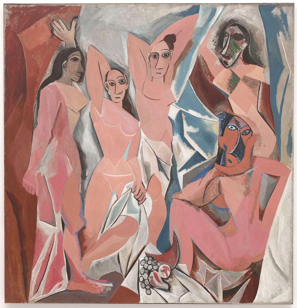 """Les Demoiselles d'Avignon"" - ""Госпожиците от д'Авиньон"", 1907 г."