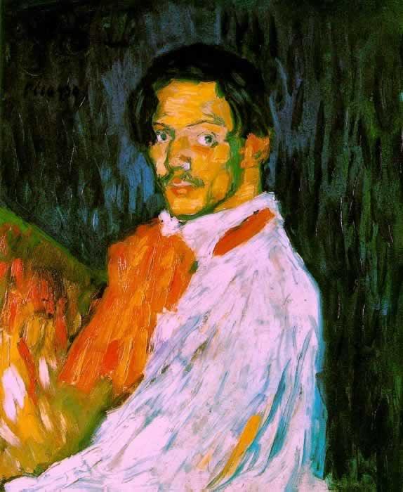 """""""Yo"""" - Автопортрет, 1901 г."""