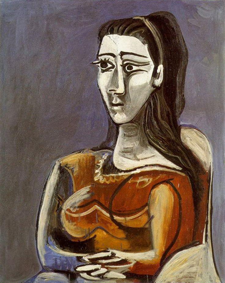 Марсел, любовно прекръстена от Пикасо в Ева.