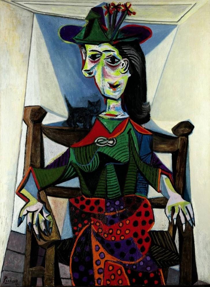 Dora Maar Au Chat, 1941 г.